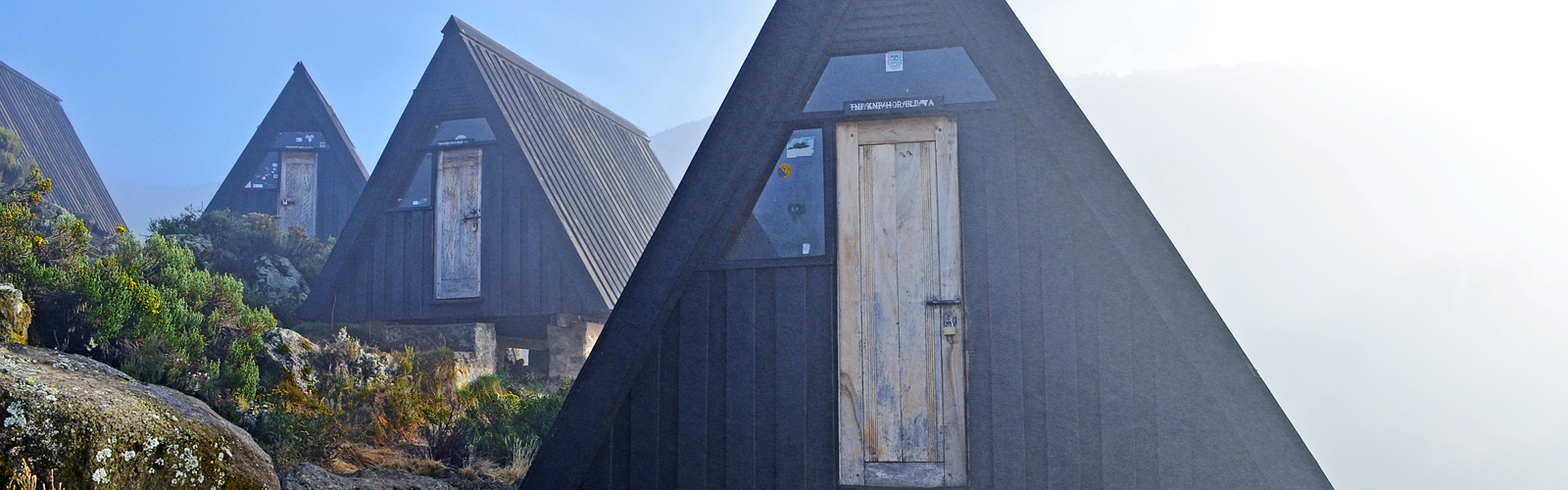 Huts at Horombo