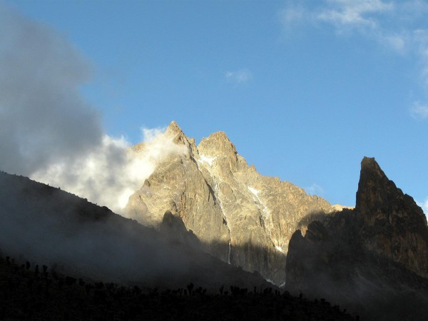 Batian and Nelion summits