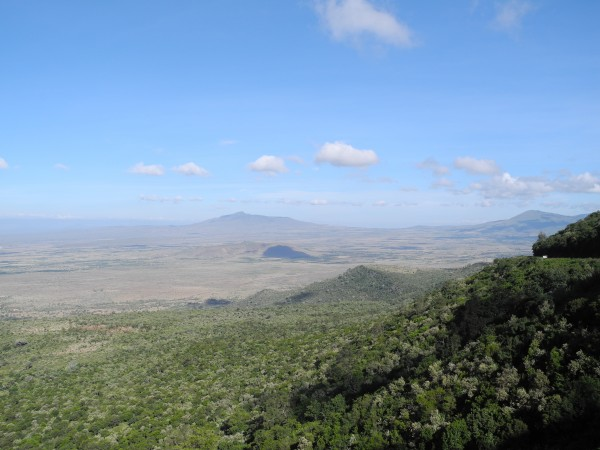 View of Longonot in Rift Valley