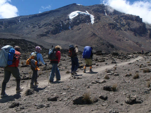 Hiking To Kilimanjaro