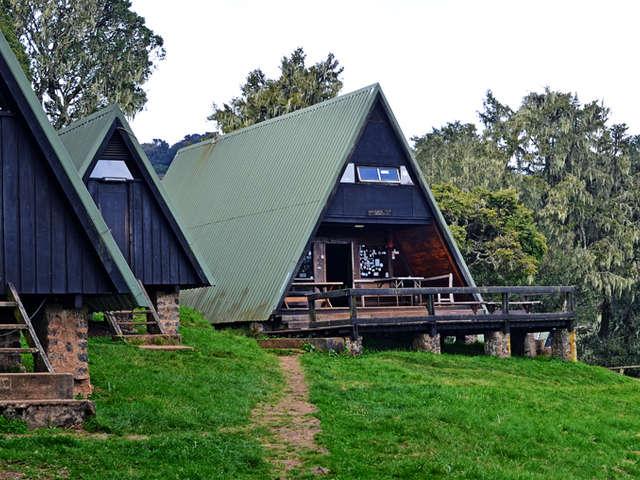 Huts At Mandara