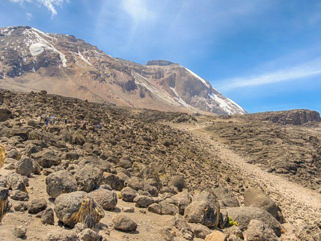 Climbing Kilimanjaro through Lemosho route