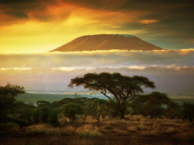 Kilimanjaro from Northern Plains